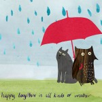 weather greetings anniversary card