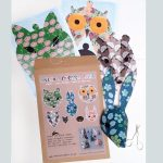 Paper animal floral woodland decorations by the black rabbit
