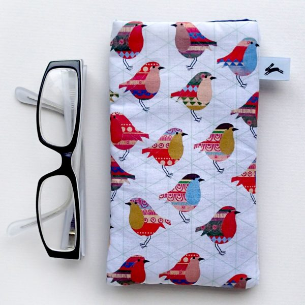 pattern printed glasses phone cover by the black rabbit