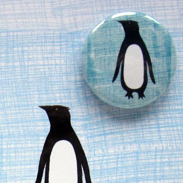 penguins greetings card