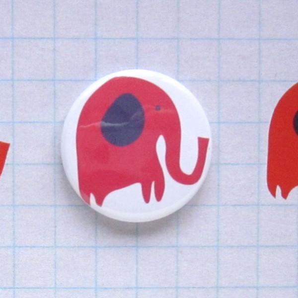 elephants badge card