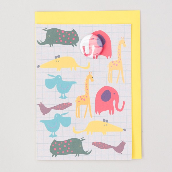 Badge card – Zoo