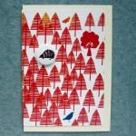 forest hedgehog illustrated card