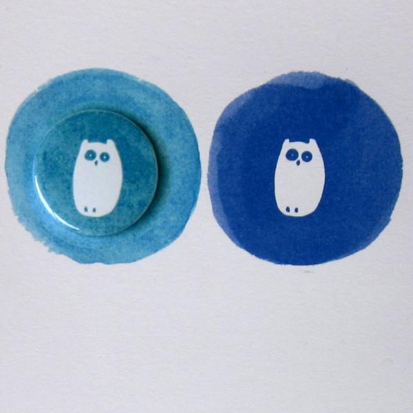 owls badge card