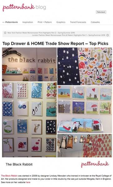 The Black Rabbit - Press patternbank blog